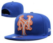 Wholesale Cheap MLB New York Mets Snapback Ajustable Cap Hat YD