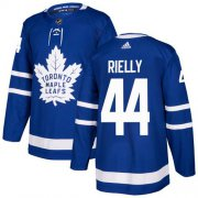 Wholesale Cheap Adidas Maple Leafs #44 Morgan Rielly Blue Home Authentic Stitched Youth NHL Jersey