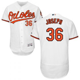 Wholesale Cheap Orioles #36 Caleb Joseph White Flexbase Authentic Collection Stitched MLB Jersey