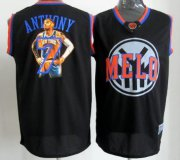 Wholesale Cheap New York Knicks #7 Carmelo Anthony Notorious Fashion Jersey