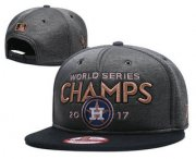 Wholesale Cheap Houston Astros 2017 World Series Champions Adjustable Hat GS 02