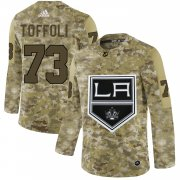 Wholesale Cheap Adidas Kings #73 Tyler Toffoli Camo Authentic Stitched NHL Jersey