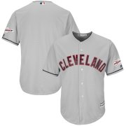 Wholesale Cheap Cleveland Indians Blank Majestic Road 2019 All-Star Game Patch Cool Base Team Jersey Gray