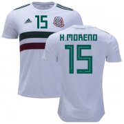 Wholesale Cheap Mexico #15 H.Moreno Away Kid Soccer Country Jersey