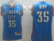 Wholesale Cheap Oklahoma City Thunder #35 MVP Blue Swingman Jersey