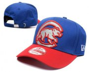Wholesale Cheap MLB Chicago Cubs Snapback Ajustable Cap Hat GS 5