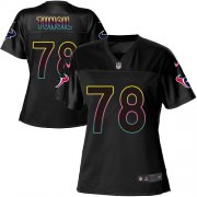 Wholesale Cheap Nike Texans #78 Laremy Tunsil Black Women's NFL Fashion Game Jersey
