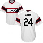 Wholesale Cheap White Sox #24 Early Wynn White Alternate Home Cool Base Stitched Youth MLB Jersey