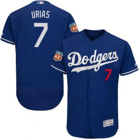 Wholesale Cheap Dodgers #7 Julio Urias Blue Flexbase Authentic Collection Stitched MLB Jersey