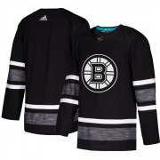 Wholesale Cheap Adidas Bruins Blank Black 2019 All-Star Game Parley Authentic Stitched NHL Jersey
