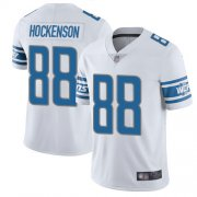 Wholesale Cheap Nike Lions #88 T.J. Hockenson White Youth Stitched NFL Vapor Untouchable Limited Jersey