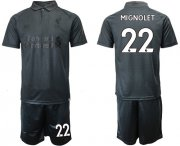 Wholesale Cheap Liverpool #22 Mignolet Black Soccer Club Jersey
