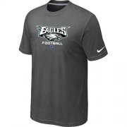 Wholesale Cheap Nike Philadelphia Eagles Big & Tall Critical Victory NFL T-Shirt Dark Grey