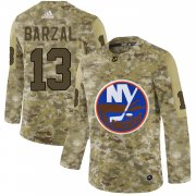 Wholesale Cheap Adidas Islanders #13 Mathew Barzal Camo Authentic Stitched NHL Jersey