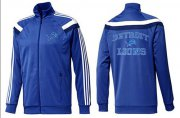 Wholesale Cheap NFL Detroit Lions Heart Jacket Blue_3