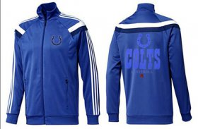 Wholesale Cheap NFL Indianapolis Colts Victory Jacket Blue_2