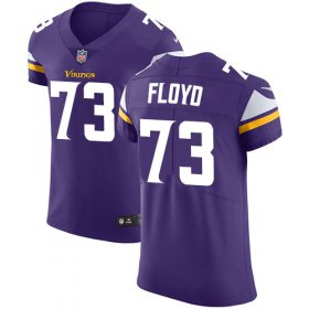 Wholesale Cheap Nike Vikings #73 Sharrif Floyd Purple Team Color Men\'s Stitched NFL Vapor Untouchable Elite Jersey