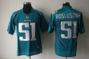 Wholesale Cheap Jaguars #51 Paul Posluszny Green Stitched NFL Jersey