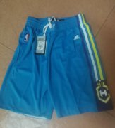 Wholesale Cheap Men's New Orleans Pelicans Light Blue Basketball Shorts