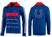 Wholesale Cheap NFL Indianapolis Colts Team Logo Jacket Blue_4