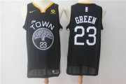 Wholesale Cheap Warriors 23 Draymond Green Black Nike Swingman Jersey