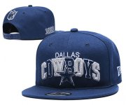 Wholesale Cheap Cowboys Team Logo Navy 1960 Anniversary Adjustable Hat YD