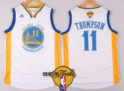 Wholesale Cheap Golden State Warriors #11 Klay Thompson Revolution 30 Swingman New White Jersey