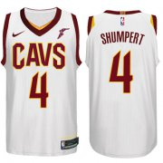 Wholesale Cheap Nike NBA Cleveland Cavaliers #4 Iman Shumpert Jersey 2017-18 New Season White Jersey