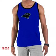 Wholesale Cheap Men's Nike NFL Carolina Panthers Sideline Legend Authentic Logo Tank Top Blue