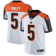 Wholesale Cheap Nike Bengals #5 Ryan Finley White Men's Stitched NFL Vapor Untouchable Limited Jersey