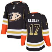 Wholesale Cheap Adidas Ducks #17 Ryan Kesler Black Home Authentic Drift Fashion Stitched NHL Jersey