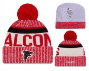 Wholesale Cheap NFL Atlanta Falcons Logo Stitched Knit Beanies 005