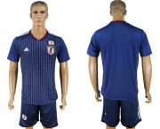 Wholesale Cheap Japan Blank Home Soccer Country Jersey