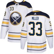 Wholesale Cheap Adidas Sabres #33 Colin Miller White Road Authentic Stitched NHL Jersey