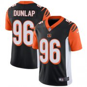 Wholesale Cheap Nike Bengals #96 Carlos Dunlap Black Team Color Youth Stitched NFL Vapor Untouchable Limited Jersey