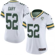 Wholesale Cheap Nike Packers #52 Rashan Gary White Women's 100th Season Stitched NFL Vapor Untouchable Limited Jersey