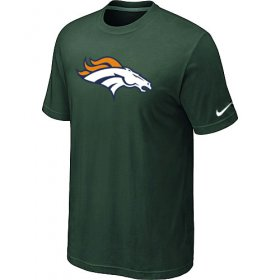 Wholesale Cheap Nike Denver Broncos Sideline Legend Authentic Logo Dri-FIT NFL T-Shirt Dark Green