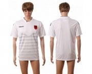 Wholesale Cheap Albania Blank Away Soccer Country Jersey