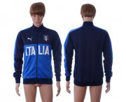 Wholesale Cheap Italy Home Soccer Jackets Blue