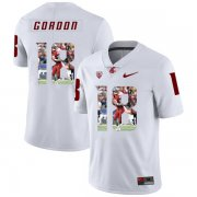 Wholesale Cheap Washington State Cougars 18 Anthony Gordon White Fashion College Football Jersey