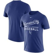 Wholesale Cheap Kansas City Royals Nike Practice Performance T-Shirt Royal