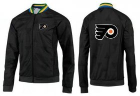 Wholesale Cheap NHL Philadelphia Flyers Zip Jackets Black-2
