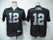 Wholesale Cheap Raiders #12 Jacoby Ford Black Stitched NFL Jersey