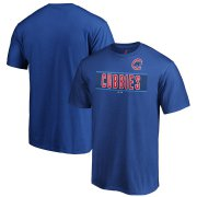 Wholesale Cheap Chicago Cubs Majestic 2019 MLB Little League Classic Wordmark T-Shirt Royal
