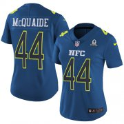 Wholesale Cheap Nike Rams #44 Jacob McQuaide Navy Women's Stitched NFL Limited NFC 2017 Pro Bowl Jersey