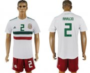 Wholesale Cheap Mexico #2 Araujo Away Soccer Country Jersey