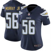 Wholesale Cheap Nike Chargers #56 Kenneth Murray Jr Navy Blue Team Color Women's Stitched NFL Vapor Untouchable Limited Jersey