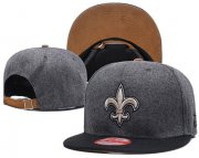 Wholesale Cheap NFL New Orleans Saints Team Logo Snapback Adjustable Hat