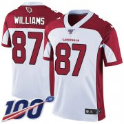 Wholesale Cheap Nike Cardinals #87 Maxx Williams White Men's Stitched NFL 100th Season Vapor Limited Jersey