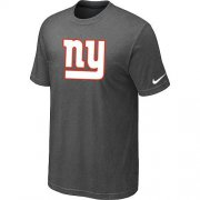 Wholesale Cheap New New York Giants Sideline Legend Authentic Logo Dri-FIT Nike NFL T-Shirt Crow Grey